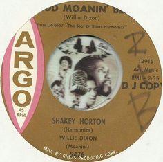 SHAKEY HORTON WILLIE DIXON Good Moanin Blues NORTHERN NEW BREED SOUL R&B 45 RPM