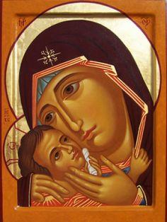 Madre di Dio; 25 x 34 cm, Collezione Privata, Brindisi, Italia, 2004