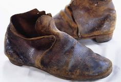 A Civil War soldier's shoes. (Photo Credit: Tria Giovan/CORBIS)