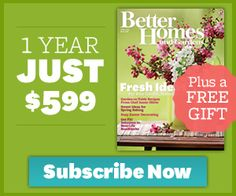Better Homes & Garden Magazine…just $5.99 for the year! | OC FAMILY DEALS