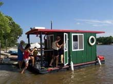 "From Duckworks we find ""Just Musin"" based on Lisa B. Good plans and built for the creeks and marshes of the northern Red River Delta. Took 3 months to build and is powered by a 9 hp out…"