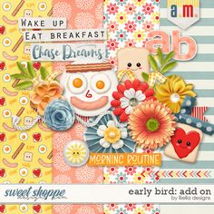 FREE Early Bird: Add On by lliella designs