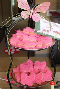 Sandwiches at a Fairy Garden Party #fairygarden #partysandwiches