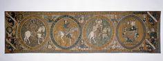 Antependium mit Anbetung der Hl. Drei Könige aus dem Bamberger Dom  Süddeutschland, um 1300  Stickerei in Gold und Seide auf Leinen  73,5 x 274,0 cm  Inv.-Nr. 23/31http://www.bayerisches-nationalmuseum.de/index.php?id=475_paintingdb_pi%5Bp%5D=7=edd82f403493bb63d6c1f649862e17fe