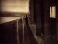 Artwork Night by Léon Spilliaert.