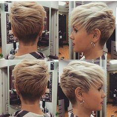 Cool and Stylish Pixie Haircut Ideas for a Bold Statement - hair styles for short hair Haircuts For Fine Hair, Pixie Hairstyles, Short Hairstyles For Women, Cool Hairstyles, Short Haircuts, Haircut Short, Short Undercut, Bob Hairstyle, Style Hairstyle