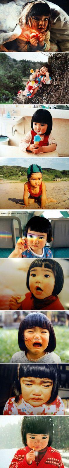 Japanese child. By 川岛小鸟的《未来ちゃん》