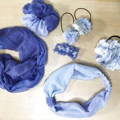 ダイソーストール1枚が7つのヘアアクセに! Hanukkah, Sewing Crafts, Diy And Crafts, Crochet, Flowers, How To Make, Handmade, Accessories, Decor