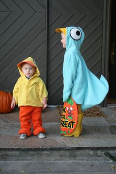 don't let the pigeon drive the bus costume! so clever:)