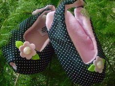 sapatinhos de tecidos bebe pinterest - Pesquisa Google