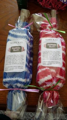 Mint Bliss Energizing Lotion, Cozy Socks, and Tootsie Rolls $13