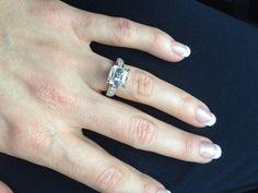 5 awe-inspiring asscher-cut engagement rings