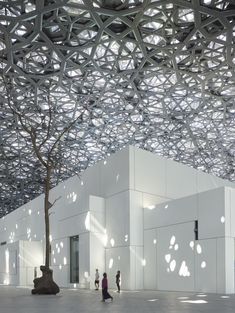 Jean Nouvel's Louvre Abu Dhabi opens | Photo: Roland Halbe | Archinect
