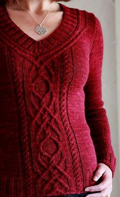 Ravelry: Cabeladabra pattern by Hanna Maciejewska - what a beautiful sweater! Going into my Ravelry queue.