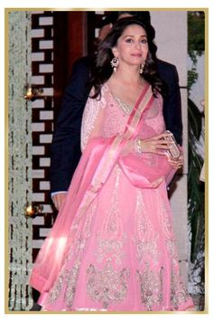 Madhuri Dixit spotted wearing Gehna Jewellery.