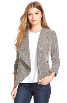 Dear stitch fix stylist. This jacket/sweater is so my style. I would need help with a top and accessories.