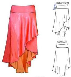 pattern for argentine tango skirt Dance Outfits, Dance Dresses, Tango Dress, Skirt Patterns Sewing, Ballroom Dress, Ballroom Dancing, Fashion Sewing, Casual Outfits, Clothes For Women