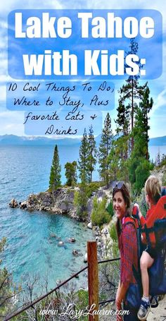 Visiting Lake Tahoe with kids? Last week we spent 3 days in South Lake Tahoe with our 1 and 2 year old. Here are 10 Fun (& Toddler-Friendly) things to do around the lake plus Where to Stay and our favorite places to eat and drink! Lake Tahoe Nevada, Sand Harbor Lake Tahoe, Lake Tahoe Map, Lake Tahoe Houses, Lake Tahoe Vacation, Vacation Pics, Lake Tahoe Camping, Lake Tahoe Summer, Spring Lake
