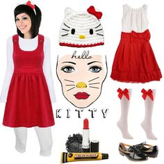 How have I never dressed up as Hello Kitty?  Why isn't Halloween more than one night per year???