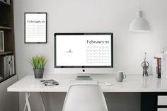 4k February 2019 Wallpaper Calendar For Desktop Background Dialysis Calendar Wallpaper Home Decor