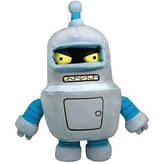Toynami Futurama Bender Plush -- To view further for this item, visit the image link. (This is an affiliate link) #StuffedAnimalsTeddyBears