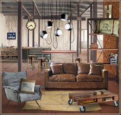 ABOUT 480U7. Lifestyle, design, culture.: Contermporary Interiors: INDUSTRIAL