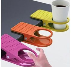 Cup holder almost anywhere!                                                                                                                                                                                 More