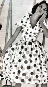 The most fabulous polka dot dress yet