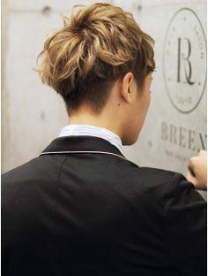 ヘアサロン ブリーン トウキョウ(Hairsalon BREEN Tokyo)[BREEN原宿]王道の清潔感ショートメンズPART2/無造作ハイトーン