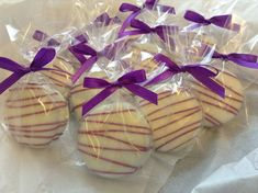 Purple Party Favors Wedding Favors Baby by PartyTimeChocolates