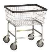 R&B Wire Standard Laundry Cart w/ Red Basket by R&B Wire. $140.94. Standard Laundry Cart with Double Pole Rack Red BasketThis is a popular cart. Extra strong, durable and dependable. Available with single or double pole rack. There is a rack extender available, as well.