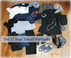 Travel In Style: My 12 Item Wardrobe