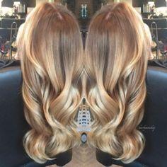 Karamell-Blond