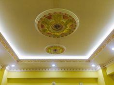 contemporary suspended ceiling interior design for living room