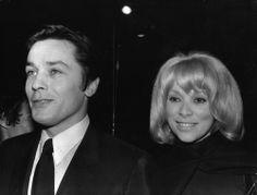 #MireilleDarc and #AlainDelon circa 1970's -- #BlackTie