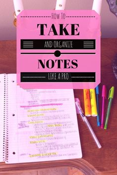 How To Take and Organize Notes like a Pro // follow us @motivation2study for daily inspiration