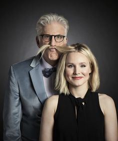 The Good Place starring Ted Danson and Kristen Bell