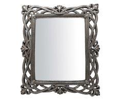 """Nástenné zrkadlo """"Bolzano Silver"""", 31 x 3 x 37 cm"""