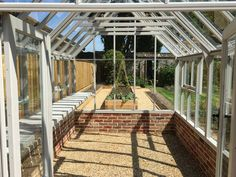 Clear view, Timber Greenhouse x deposit to secure your order Walk In Greenhouse, South Yorkshire, Garden Markers, Garden Buildings, Retail Packaging, Types Of Wood, United Kingdom, The Unit, Ebay