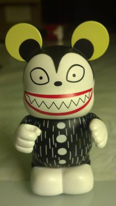 Disney Vinylmation Teddy Nightmare Before Christmas Series 2 Tim Burton's NBC