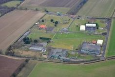 RAF Airbase - there's one near Stamford where Toby works. He has a young admirer based here.