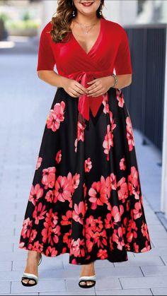 Cheap plus size dresses Plus Size Dresses online for sale African Fashion Dresses, African Dress, Fashion Outfits, Girl Fashion, Fashion Clothes, Plus Size Christmas Dresses, Plus Size Dresses, Christmas Dress Women, Trendy Dresses