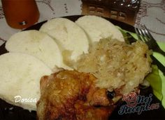 Fotorecept: Kura na kyslej kapuste Pork, Food And Drink, Rice, Meat, Chicken, Anna, Gardening, Cooking, Pork Roulade