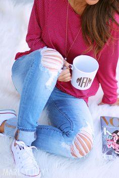 ADORING Marleylilly's NEW Monogrammed Mugs!