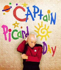 HAPPY CAPTAIN PICARD DAY!!! Captain Picard Day is celebrated on June 16th because it is the equivalent date to Stardate 47457.1, mentioned in the Star Trek: The Next Generation episode entitled The Pegasus. In that episode, Captain Picard Day is an occasion for the Enterprise to host schoolchildren and show them what Starfleet is like.
