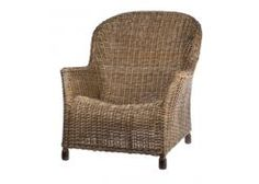 RG Imports Georgia Lounge Chair Our classic vintage rattan armchairs are the perfect way to relax  The chairs have been made so you mould into them and...