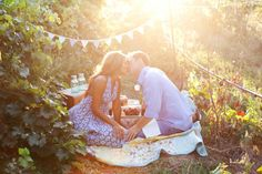 This would make for such a sweet date :) and engagement picture