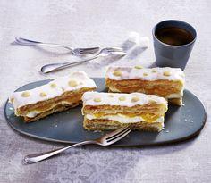 Unser beliebtes Rezept für Blätterteig-Schnitten mit Pfirsich und mehr als 55.000 weitere kostenlose Rezepte auf LECKER.de.