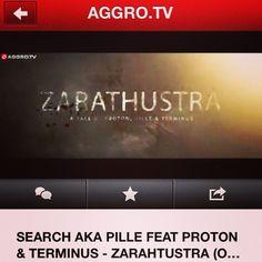 """Search aka Pille feat. Proton und Terminus - Zarathustra Video jetzt auf AGGRO TV   http://www.youtube.com/watch?v=EKoE9yeUt0c  Mixtape """"Der erleuchtete Wahnsinn 2"""" als FREE Download auf   http://www.searchakapille.com"""