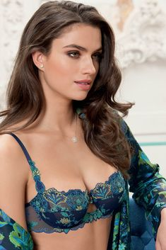 Lise Charmel AW2017 ~ 'Secret Turquoise' Lingerie Collection